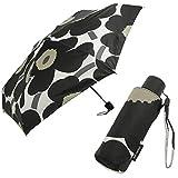 マリメッコ 傘 ウニッコ 折り畳み傘 花柄 レディース MARIMEKKO 041399 038653 038654 041405 (7)WHITE BLACK(030) 並行輸入品