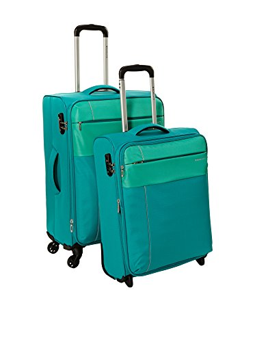 Roncato Set de 2 trolleys semirrígidos Aguamarina