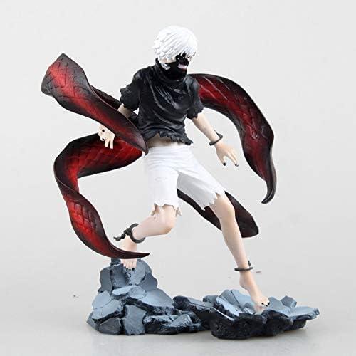 JTWMY Spielzeug Modell Anime Charakter Tokyo Ghouls Ornamente Souvenir Sammlerstücke Kunsthandwerk Geschenke Jin Muyan 20cm Spielzeug Statue (Farbe   A)