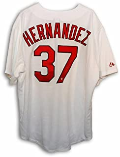 Autographed Keith Hernandez St. Louis Cardinals White Majestic Throwback Jersey - 100% Authentic Autograph - Genuine MLB Signature - Perfect Sports Gift