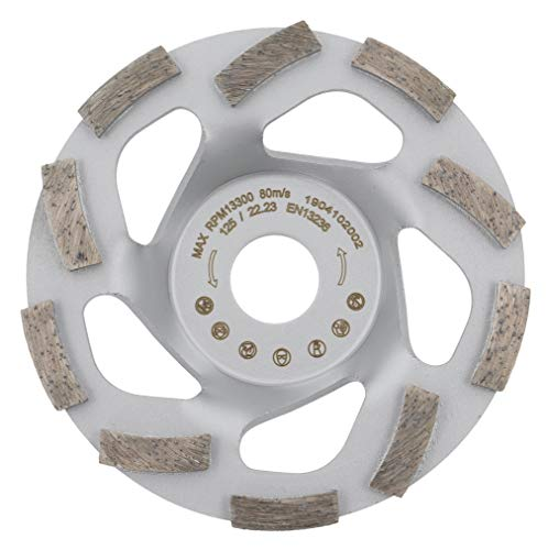 PRODIAMANT Premium diamant-slijpschijf beton turbo 125 mm x 22,2 mm diamantslijpschijf PDX82.909 125mm passend haakse slijper