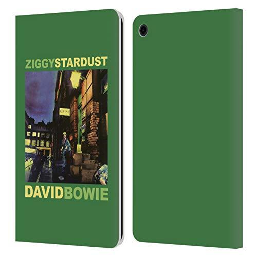 Head Case Designs Licenza Ufficiale David Bowie Ziggy Stardust Arte Album Cover in Pelle a Portafoglio Compatibile con Fire HD 8 (2015) (2017) (2018)
