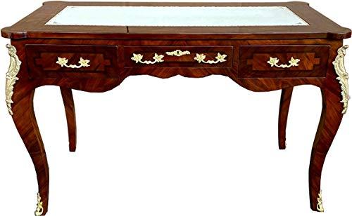 Casa Padrino Barock Schreibtisch - Sekretär Braun - Antik Stil Möbel