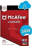 McAfee Live Safe 2020 für eine unbegrenzte Anzahl an Geräten   1 Jahr   PC/Mac/Smartphone/Tablet [Online Code] -