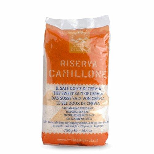 Sale Dolce di Cervia Riserva Camillone- Sale Marino Integrale Grezzo Raccolto a Mano - Produzione Limitata - Presidio Slow Food