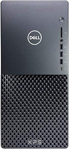 Dell XPS 8940 Tower Desktop Computer, Intel Hexa-Core i5-10400 up to 4.3GHz (Beats i7-8700), 16GB DDR4 RAM, 1TB HDD, 802.11AC WiFi, Bluetooth 4.1, USB Type-C, HDMI, Keyboard and Mouse, Windows 10