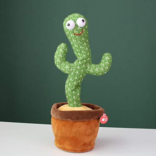 Woyada Juguetes de peluche de cactus, juguete de educación para la primera infancia, decoración del hogar, gran opción de regalo