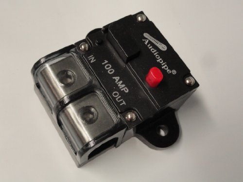 4 or 8 Gauge AWG 12V 100A 100 Amp A Manual Reset Circuit Breaker 12 Volt