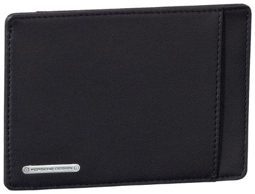 Porsche Design CL2 CardHolder H6 4090000229 Herren Ausweis- & Kartenhüllen 12x9x1 cm (B x H x T), Schwarz (black 900)
