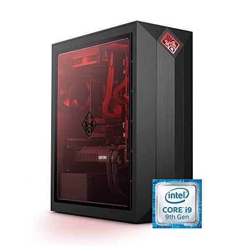 OMEN by HP Obelisk Gaming Desktop Computer, 9th Generation Intel Core i9-9900K Processor, NVIDIA GeForce RTX 2080 SUPER 8 GB, HyperX 32 GB RAM, 1 TB SSD, VR Ready, Windows 10 Home (875-1023, Black)