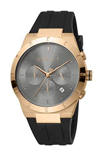 Esprit Chronograph mit Silikon-Armband