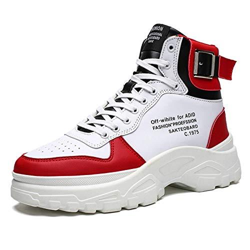 Botas para Hombre Botas De Hombre Zapatos De Suela Gruesa para Hombre, Zapatillas De Deporte, Zapatillas De Deporte para Hombre