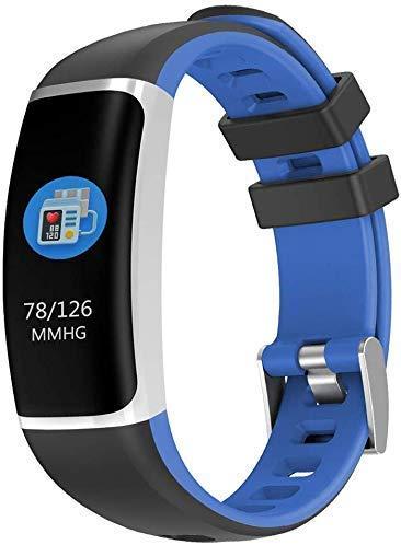 ~ Bluetooth Smart Uhren Wasserdicht IP67 intelligente Uhren Pedometer, Aktivität Trackers Schrittzähler Fitness Trackers Eignung-Uhr mit Herzfrequenzmesser Uhren for Männer Frauen Kinder (Farbe: B) XI