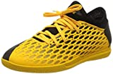 PUMA Future 5.4 IT JR, Botas de fútbol Unisex niños, Amarillo (Ultra Yellow Black), 33 EU