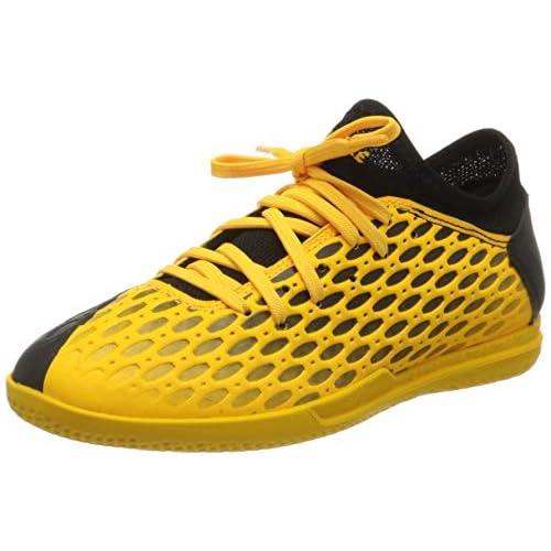 PUMA Future 5.4 IT Jr, Scarpe da Calcio Unisex-Bambini, Giallo (Ultra Yellow Black), 31 EU