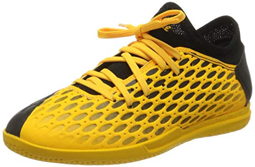 PUMA Unisex-Kinder Future 5.4 It Jr Botas de fútbol, Gelb (Ultra Yellow Black), 33 EU