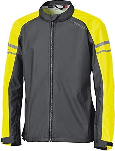 Held, regenjas, regenstretch top, zwart/fluo-geel Large zwart-fluorescerend geel