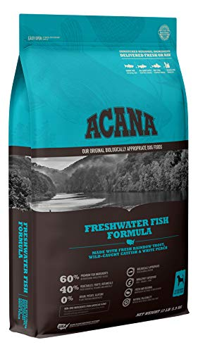 ACANA Heritage Dry Dog Food, Freshwater Fish, Biologically Appropriate & Grain Free