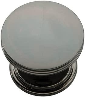 Hickory Hardware P2142-BLN American Diner Collection Knob, 1-3/8 Inch Diameter, Black Nickel