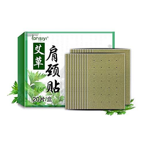 zroven Pegatinas de moxibustión natural Parche de alivio del dolor para cuello y hombro y cintura y pierna Moxa Herb Health Care Pad