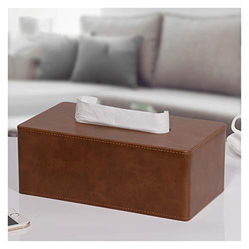 Tissue Holder Box Disegna la scatola del tessuto del tessuto del desktop della scatola del tessuto della carta, il supporto del tovagliolo domestico moderno stile retrò, per il bagno o la camera da le