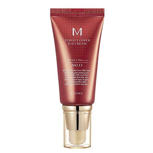 MISSHA M Perfect Cover BB Cream SPF42/PA+++ (No.13/Bright Beige) 50ml, 1er Pack