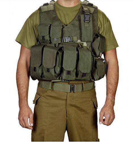 Chaleco táctico Swat Hagor oficial Militar Cordura combate arnés familiarización israelí