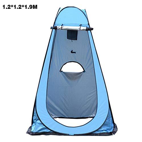 Tentes éphémères portables, Tentes intimité, Vestiaire instantané Tente de douche de camping Toilette de camp pour la randonnée en plein air, Légère, Robuste, Pliable - avec sac de transport