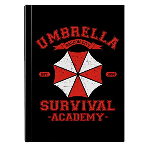 Paraplu Survival Academy Resident Evil Operation Racoon City Hardback Journal