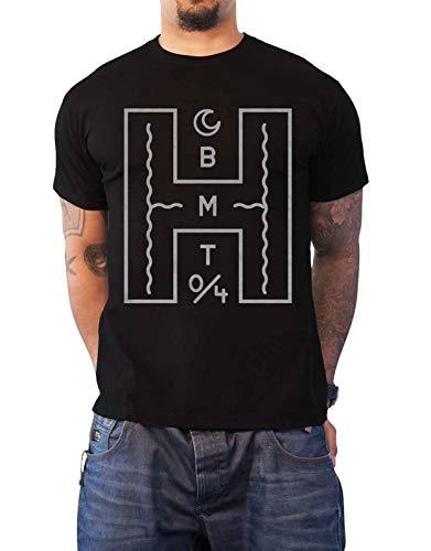 Bring Me The Horizon Giant H Logo offiziell Herren Nue Schwarz T Shirt