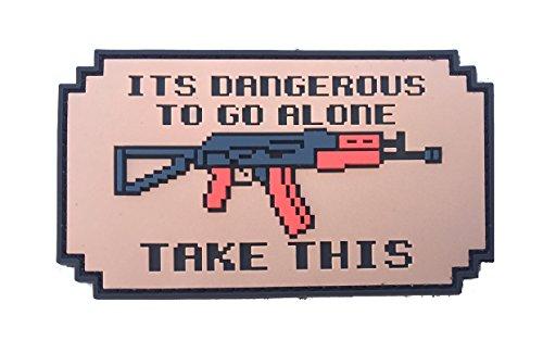 Patriot Patch Co - It's Dangerous to Go Alone Patch (AK)