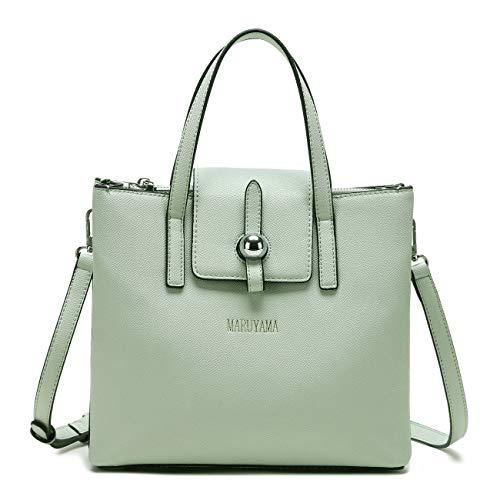 Hand Bag, Shoulder bag, Satchel bag, Fashionable Tote, Handbag, MS3501 (Light Green)