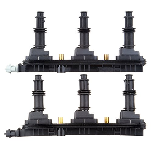 ECCPP Ignition Coils Pack of 2 Compatible with Cadillac Catera/CTS Saturn L Sedan/L Wagon/Vue 1999-2005 Replacement for UF-278 C1415