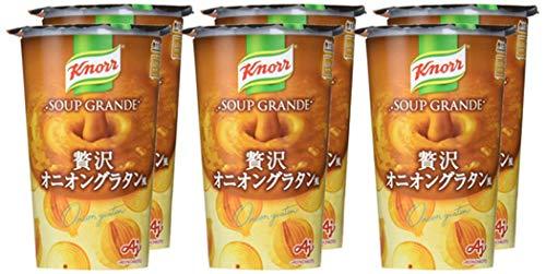 クノール スープグランデ オニオングラタン風 220g ×6個