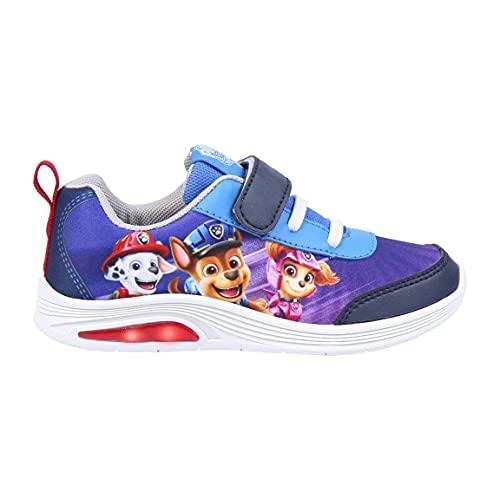 CERDÁ LIFE'S LITTLE MOMENTS, Zapatillas con Luces Niño de Paw Patrol Movie-Licencia Oficial Nickelodeon, Azul, 27 EU