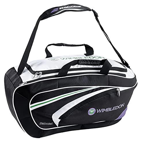 Babolat Turniertaschen Sport Bag Wimbledon, Schwarz, 31 x 64.5 x 29.5 cm, 42 Liter, 752026-196