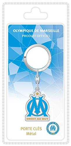 La Plume Dorée Logo Porte-Clefs Sous Blister Métal Multicolore 8,5 x 18 x 2,5 cm