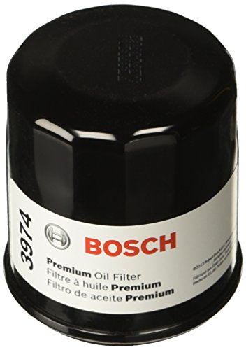 Bosch 3974 Premium FILTECH Oil Filter for Select Subaru Baja, Crosstrek, Forester, Impreza, Legacy, Outback, WRX STI