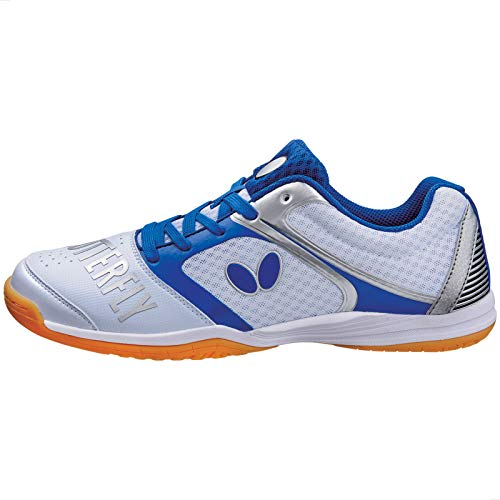 Butterfly Table Tennis Shoes , White, 5