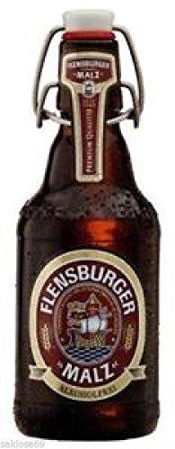 20 Flaschen Flensburger Malz Alkoholfrei Bügelflaschen inc. 3.00€ MEHRWEG Pfand Vol. Ploppverschluß ohne Rahmen