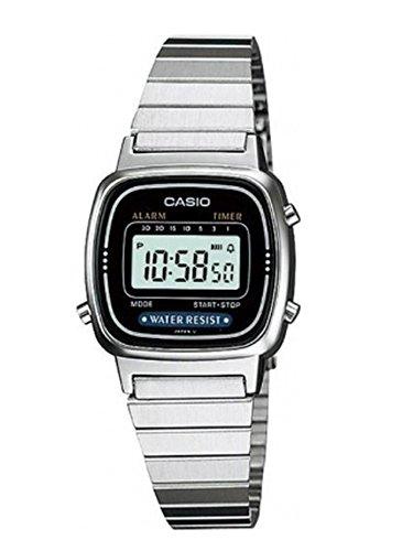 Casio Collection Retro LA670WEA-1EF Reloj Digital para Mujeres Muy Ligero