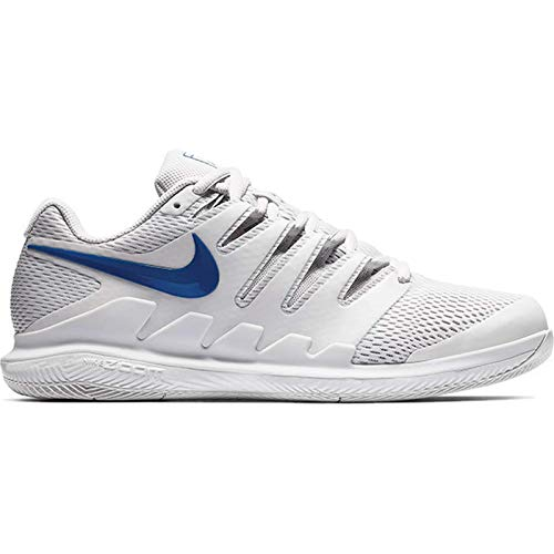Nike Air Zoom Vapor X HC, Scarpe da Tennis Uomo, Multicolore (Vapste Grey/Indigo Force/Indigo Force 044), 45 EU