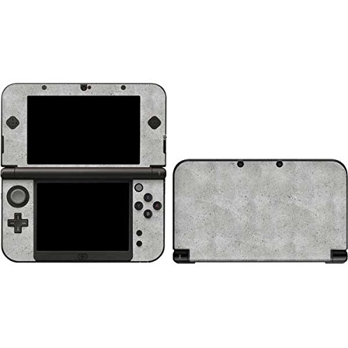 Skinit Decal Gaming Skin Compatible with 3DS XL 2015 - Originally Designed Light Grey Concrete Design