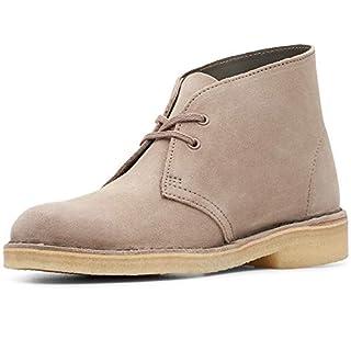 Clarks Originals Damen Desert Boots, Beige