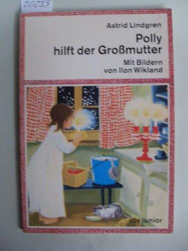 Polly hilft der Großmutter.