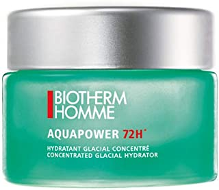 Biotherm Homme Aquapower 72 Hour Concentrated Glacial Men's Hydrator, 1.69 Ounce