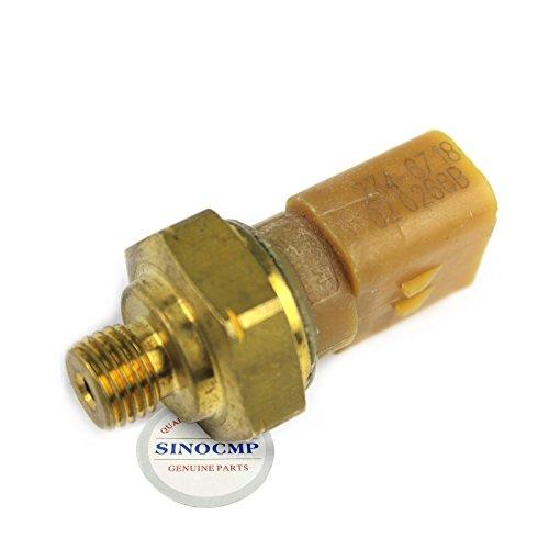 SINOCMP Capteur de pression pour rail d'huile moteur 274-6718 2746718 Capteur de pression pour pelleteuse C15