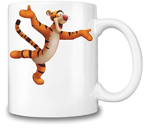 Tigger Winnie The Pooh - Taza de café de cerámica, diseño de Winnie The Pooh