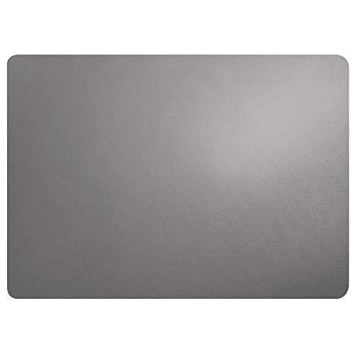 ASA 7806420 Tischset Lederoptik, Kunstleder, Cement-Grau, 33 x 46 Einheiten