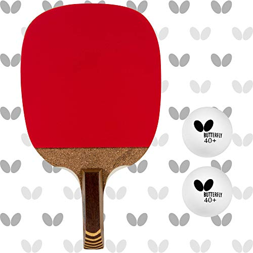 Butterfly Nitchugo Japanese Penhold Table Tennis Racket...